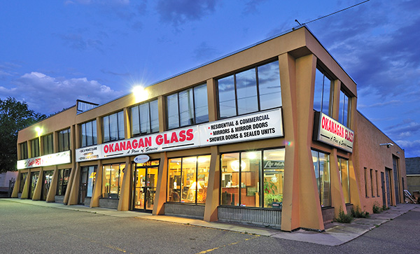 Okanagan Glass Ltd. - 2814-44th Ave. - Vernon, BC. V1T 8H7